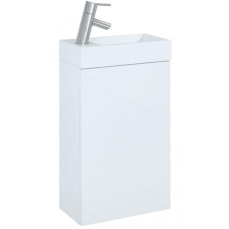 Elita Set Young Basic 163068 Szafka podumywalkowa 40 biała z umywalką