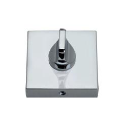 Szyld kwadratowy GAMET chrom - BLOKADA WC - PLT-26-WC-04-KW