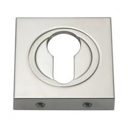 Szyld kwadratowy GAMET nikiel szczotkowany - NA WKŁADKĘ - PLT-25-Y-07-KW