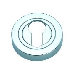Szyld okrągły GAMET chrom - NA WKŁADKĘ - PLT-25-Y-04