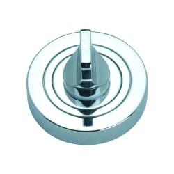 Szyld okrągły GAMET chrom - BLOKADA WC - PLT-25WC-04