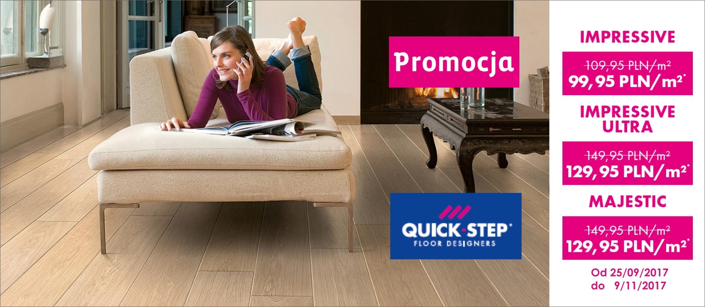 Panele Quick Step w rewelacyjnych cenach ! Promocja na wybrane kolekcje