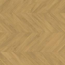 Panele podłogowe Impressive Patterns Dąb Chevron Naturalny IPA4161 AC4 8mm Quick-Step