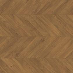 Panele podłogowe Impressive Patterns Dąb Chevron Brązowy IPA4162 AC4 8mm Quick-Step