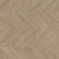 Panele podłogowe Impressive Patterns Dąb Chevron Ciemnoszary IPA4164 AC4 8mm Quick-Step