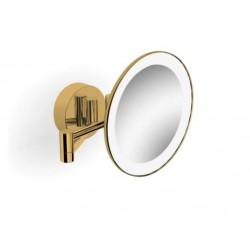 Lusterko kosmetyczne z podświetleniem LED Złoty Stella - 22.00230-G