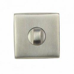 Rozeta kwadratowa blokada WC DOMINO EF SN04-QR INX WC
