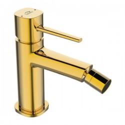 Laveo Pola złota bateria bidetowa z korkiem