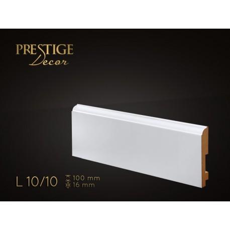 Listwa przypodłogowa MDF Prestige Decor L10/10 | Zapytaj o RABAT