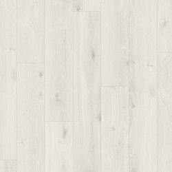 Panele podłogowe Basic 400 Dąb Biały Kryształ 1474400 AC4 8mm Parador