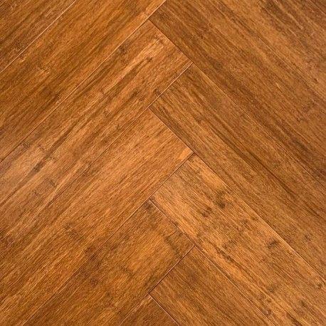 Podłoga bambusowa Wild Wood Chevron Karmel Lakier UV 12 mm