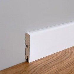 Listwa przypodłogowa MDF Foge LB1 8cm biały półmat