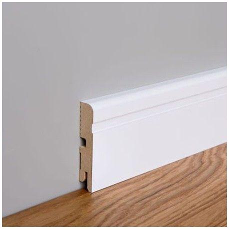 Listwa przypodłogowa MDF Foge LB2 8cm biały półmat