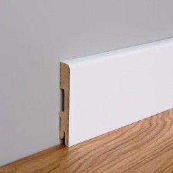 Listwa przypodłogowa MDF Foge LB1 10cm biały półmat