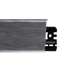 Listwa przypodłogowa PVC Arbiton INDO 17 Aluminium