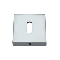 Szyld kwadratowy GAMET chrom - NA KLUCZ - PLT-26J-N-04-KW