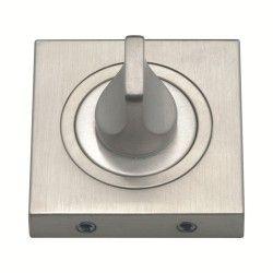 Szyld kwadratowy GAMET nikiel szczotkowany - BLOKADA WC - PLT-25WC-07-KW