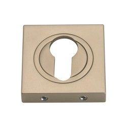 Szyld kwadratowy GAMET nikiel satynowy - NA WKŁADKĘ - PLT-25-Y-06-KW