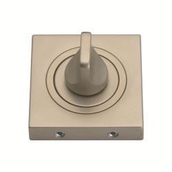 Szyld kwadratowy GAMET nikiel satynowy - BLOKADA WC - PLT-25WC-06-KW