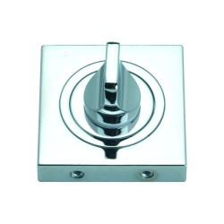 Szyld kwadratowy GAMET chrom - BLOKADA WC - PLT-25WC-04-KW