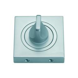 Szyld kwadratowy GAMET chrom satynowy - BLOKADA WC - PLT-25WC-08-KW