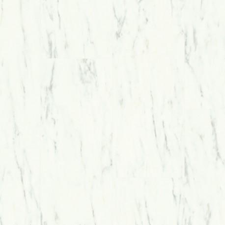 Panele winylowe Ambient Glue Plus Marmur Carrara Biel AMGP40136 AC5 2,5mm Quick-Step