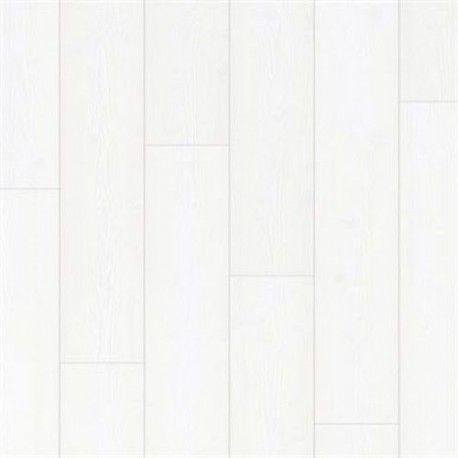 Panele podłogowe Impressive Deski Białe IM1859 AC4 8mm Quick-Step