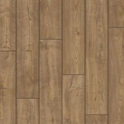 Panele podłogowe Impressive Dąb Skrobany Brązowy IM1850 AC4 8mm Quick-Step + podkład GRATIS