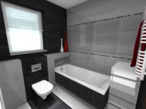 Łazienki małe