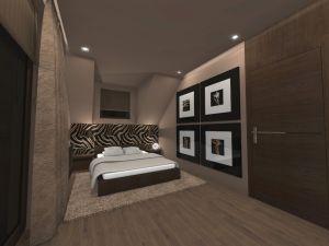 Projekty sypialni