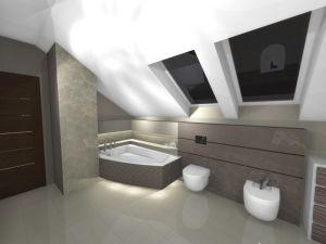 Łazienki duże