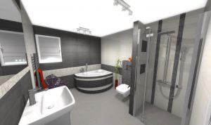 Łazienki średnie