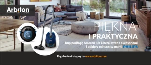 Promocja Podłogi Vinylowe Arbiton - odkurzacz gratis