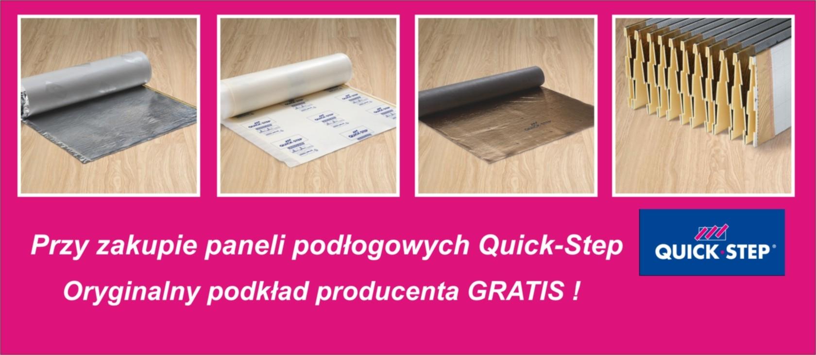 Podkłady pod panele Quick Step Promocja