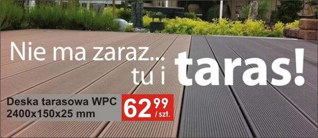 Promocje na tarasy WPC