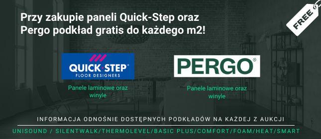 Darmowy podkład do Quick-Step oraz Pergo!